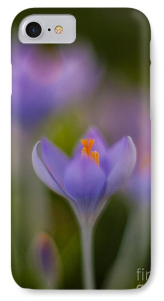 Crocus Ethereal IPhone Case by Mike Reid