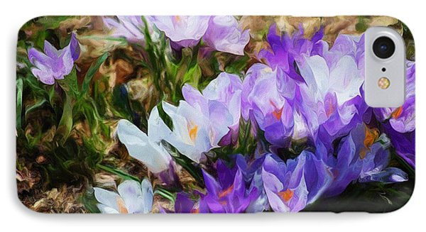 Crocus Fantasy Phone Case by David Lane