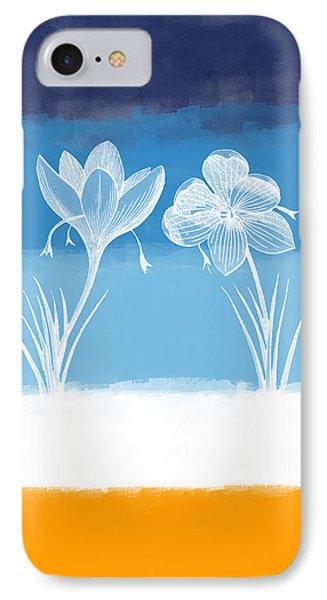 Crocus Flower IPhone Case by Aged Pixel