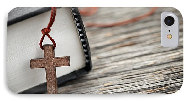Cross And Bible IPhone Case