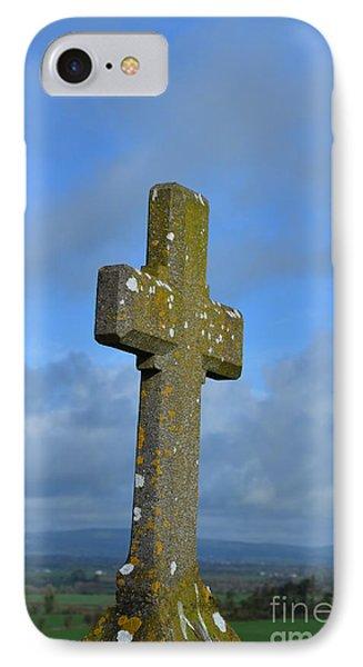 Cross At Cashel IPhone Case