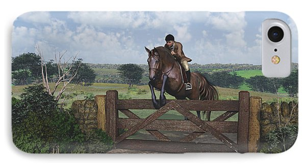 Cross Country IPhone Case by Jayne Wilson