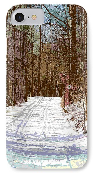 IPhone Case featuring the photograph Cross Country Trail by Nina Silver