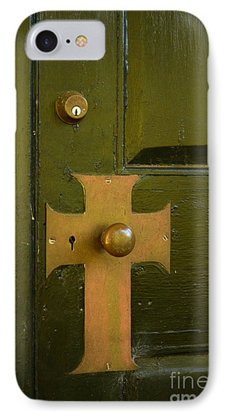 Cross Door Plate IPhone Case