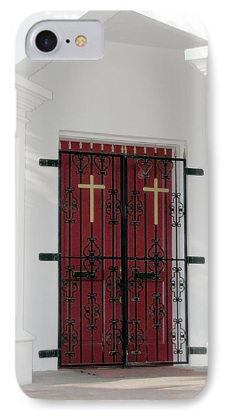 Key West Church Doors IPhone Case