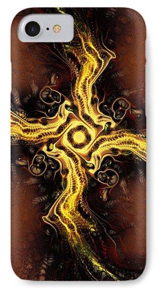 Cross Of Light IPhone Case by Anastasiya Malakhova