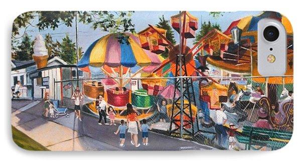 Crossbay Amusement Park IPhone Case