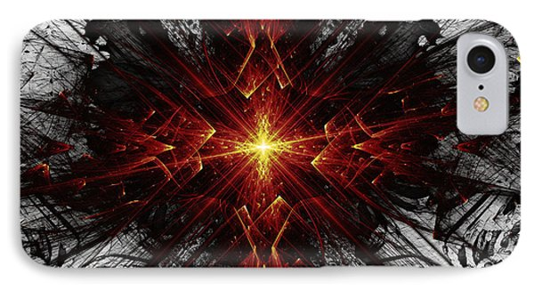 IPhone Case featuring the digital art Crossed by Arlene Sundby