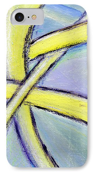 Crossed Paths 1 IPhone Case by Karyn Robinson