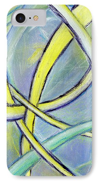 Crossed Paths IPhone Case by Karyn Robinson