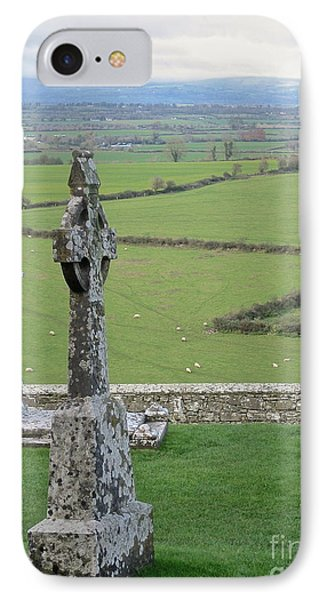 IPhone Case featuring the photograph Crosses Of Cashel by Suzanne Oesterling