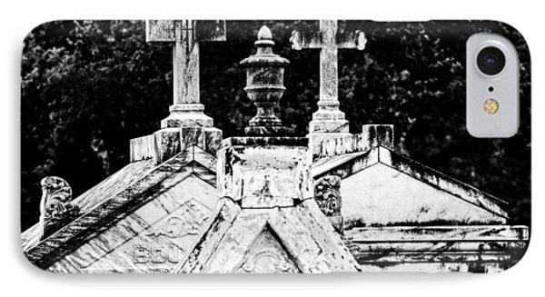 Crosses Of Metairie Cemetery IPhone Case