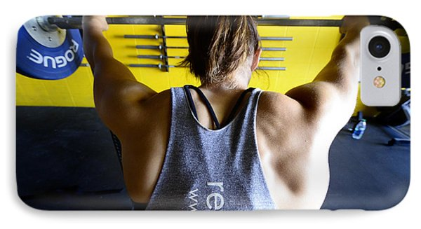 Crossfit 3 Phone Case by Bob Christopher