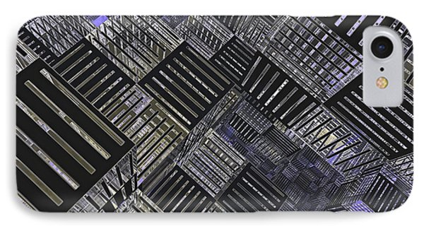 Crosshatch Phone Case by Peter J Sucy