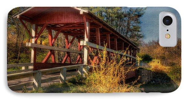 Crossing Shawnee Creek IPhone Case by Lois Bryan