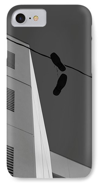 IPhone Case featuring the photograph Crossing The Line - Urban Life by Steven Milner