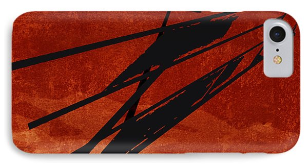 Crossroads IPhone Case by Ken Walker
