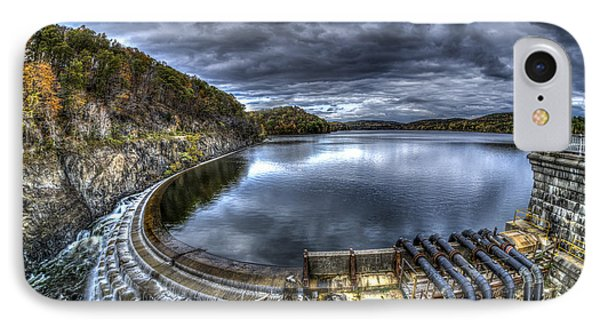 IPhone Case featuring the photograph Croton Reservoir Dam by Rafael Quirindongo
