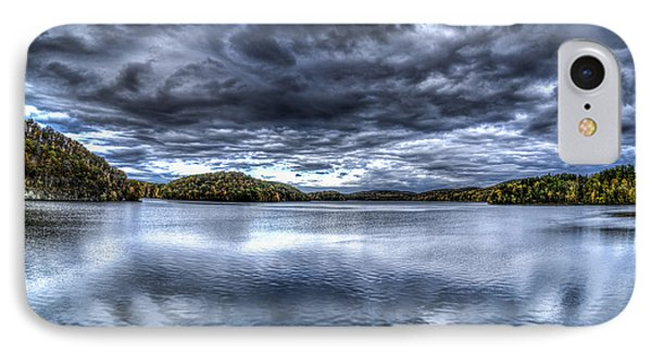 IPhone Case featuring the photograph Croton Reservoir by Rafael Quirindongo