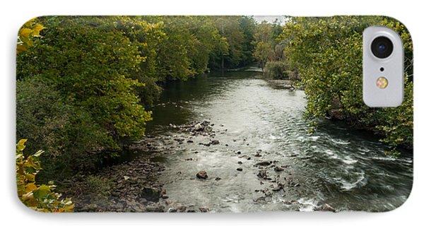Croton River 1 IPhone Case by Frank Mari