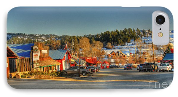 IPhone Case featuring the photograph Crouch Main St by Sam Rosen