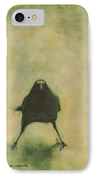 Blackbird iPhone 7 Case - Crow 6 by David Ladmore