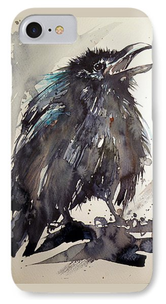 Crow Baby IPhone Case