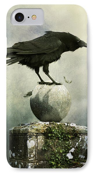 IPhone Case featuring the photograph Crow  by Ethiriel  Photography