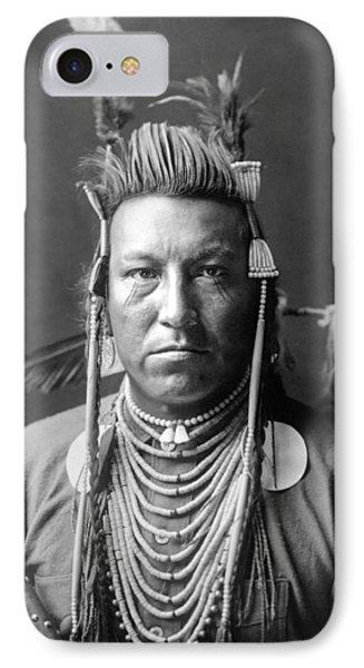 Crow Indian Circa 1908 IPhone Case
