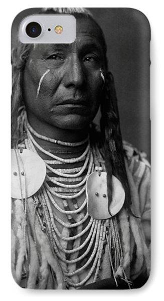 Crow Indian Man Circa 1908 IPhone Case