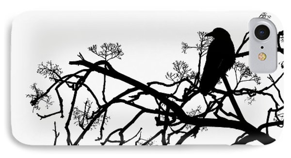 Crow IPhone Case by Jasna Buncic