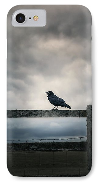 Crow IPhone Case by Joana Kruse