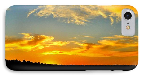 Crown Lake  Sunset  Retired Ahhh IPhone Case by Cindy Croal