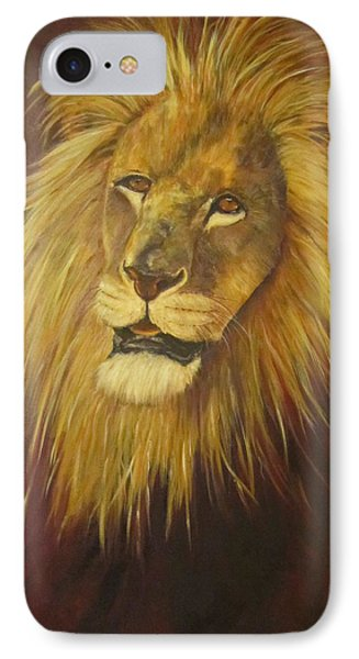 Crown Of Courage,lion IPhone Case