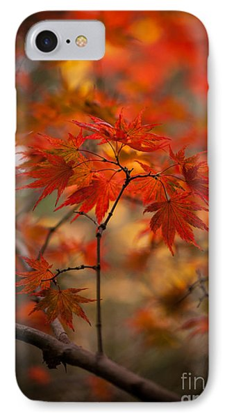 Crown Of Fire IPhone Case by Mike Reid