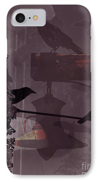 Crows  IPhone Case by Robert Ball