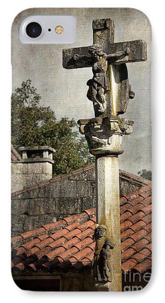 Cruceiro In Galicia IPhone Case by RicardMN Photography