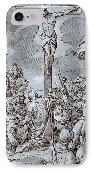 Crucifixion Phone Case by Johann or Hans von Aachen
