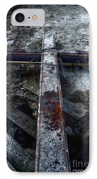 Crucifixion Phone Case by Margie Hurwich