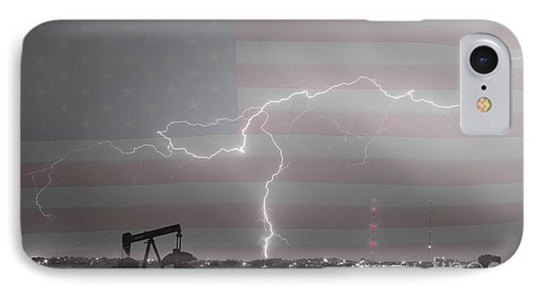 Crude Oil And Natural Gas Striking Across America Bwsc Phone Case by James BO  Insogna