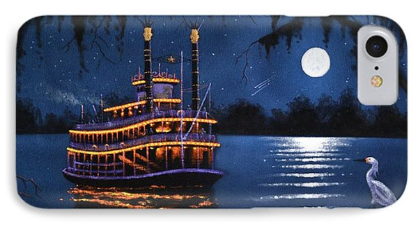 Cruissing The Mississippi IPhone Case