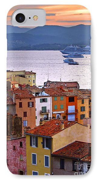 Cruise Ships At St.tropez IPhone Case