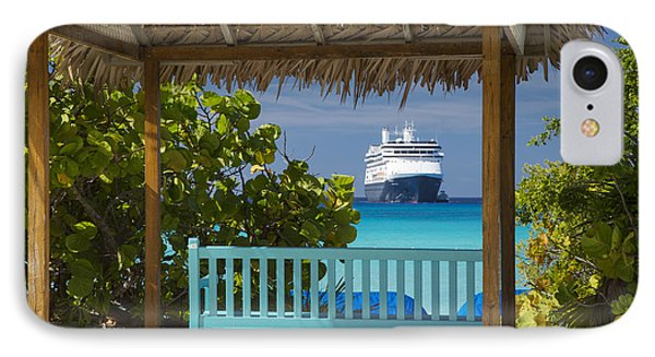 Cruise View - Bahamas IPhone Case by Brian Jannsen