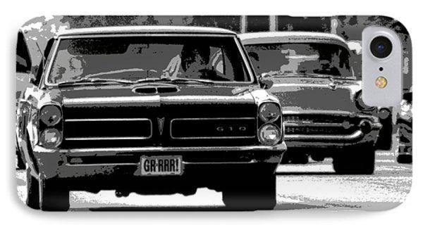 Cruisin' Woodward Phone Case by Gordon Dean II