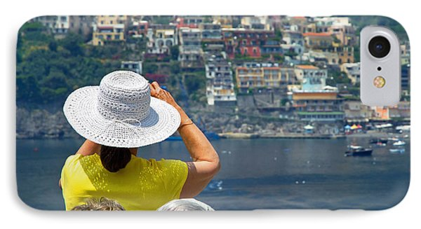 Cruising The Amalfi Coast IPhone Case by Keith Armstrong