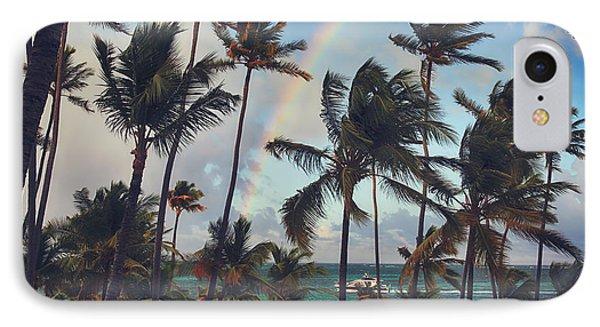 Cruising Under The Rainbow IPhone Case