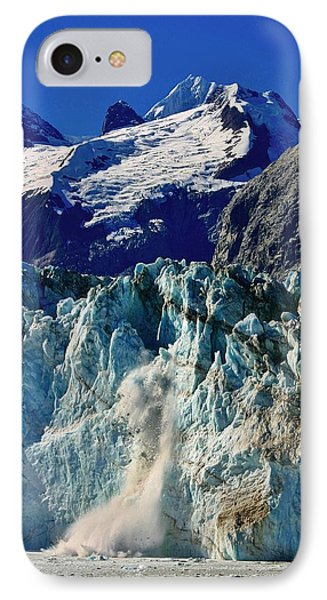 IPhone Case featuring the photograph Crumbling Glacier by Henry Kowalski