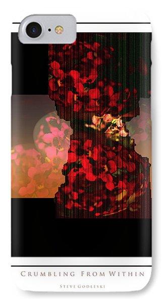 Crumbling IPhone Case by Steve Godleski