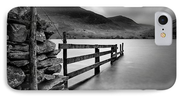 Crummock Water IPhone Case by Dave Bowman