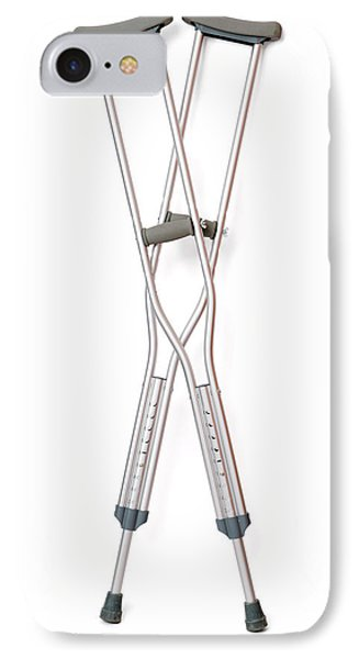Crutches IPhone Case